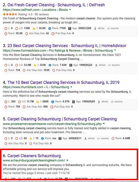 Carpet cleaners schaumburg organic